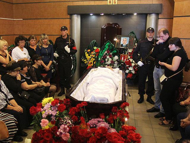 ДТП на Байкальской в Иркутске: родственники и коллеги простились с погибшим подполковником полиции