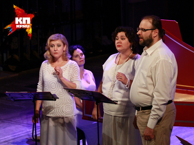 На сцене алтайской филармонии выступила органистка Лада Лобзина и ансамбль Insula Magica