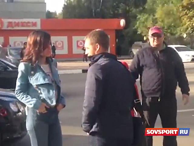 Тина Канделаки увезла Гончаренко на своем автомобиле