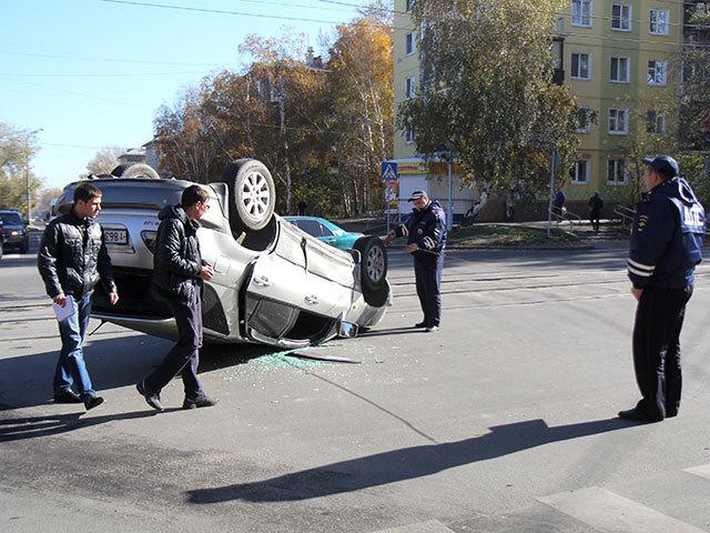 Авария на перекрестке улиц  Трилиссера и Партизанская