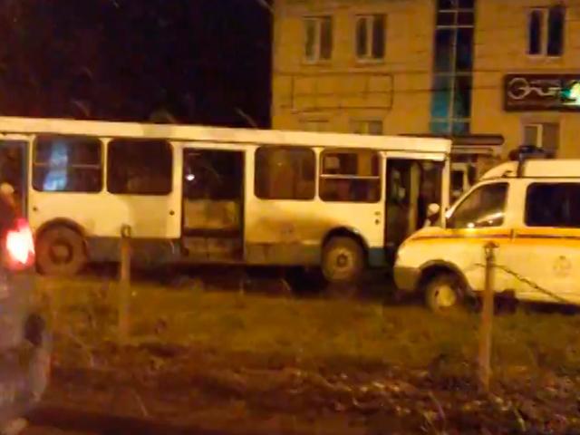 Авария на улице Родионова Нижний Новгород
