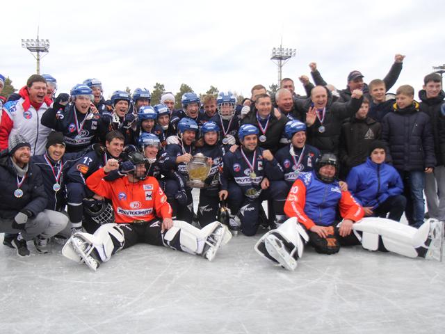 Обладателем Кубка России по хоккею с мячом стала «Байкал-Энергия»