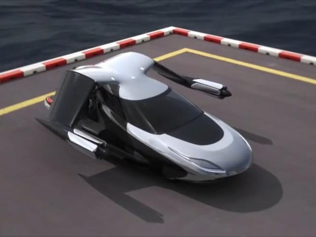 Terrafugia обещает сделать летающую машину с автопилотом