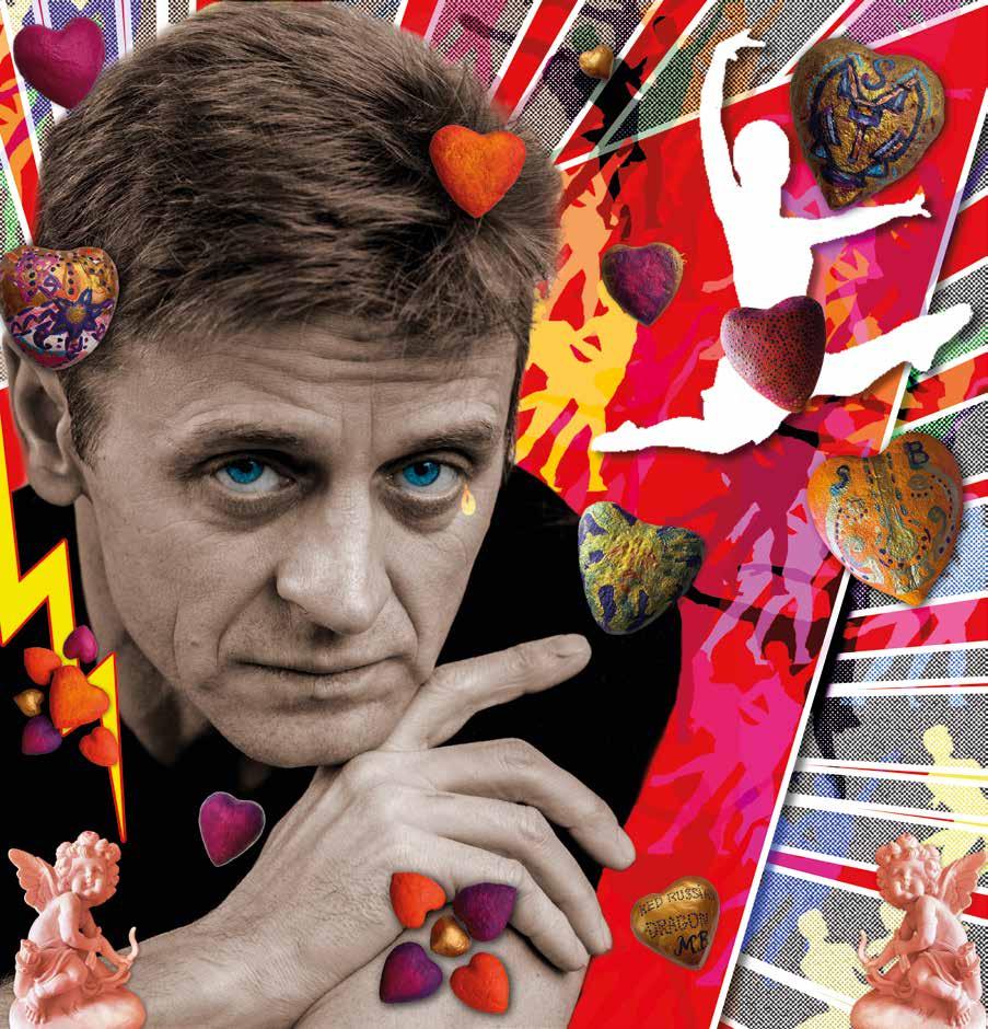 Фантомы нашей любви. Цветная графика Сергея Берменьева