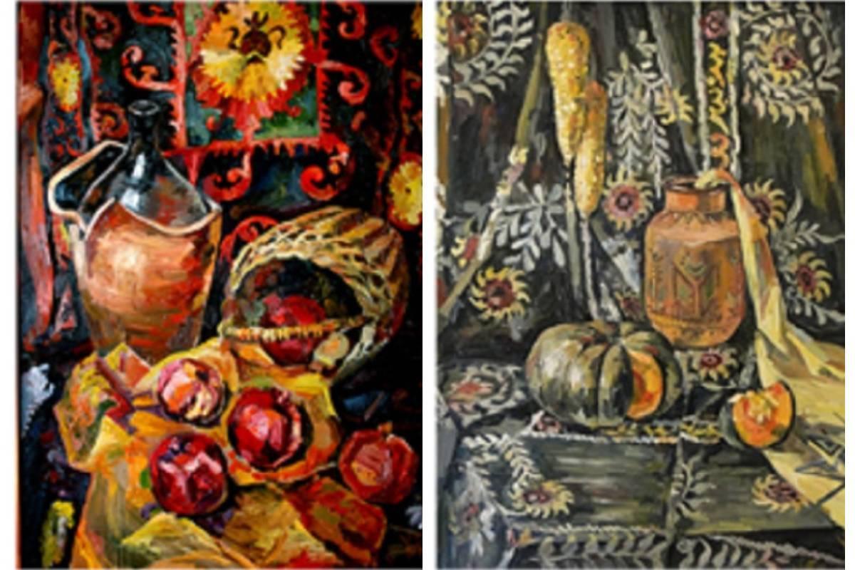 Выставка студентов Московской государственной художественно-промышленной академии им. С. Г. Строганова