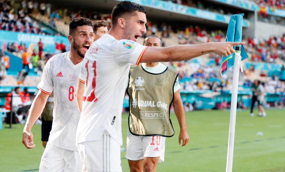 Испанцы разгромили Словакию и вышли в 1/8 финала Евро-2020. Фото: REUTERS