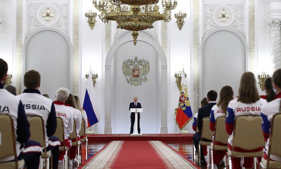 Владимир Путин активно следит за спортом в стране и в мире. Фото: Global Look Press