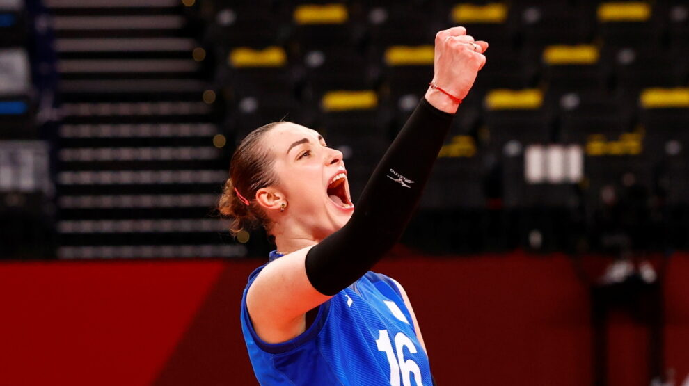 Волейбол - женщины - Олимпиада - Россия