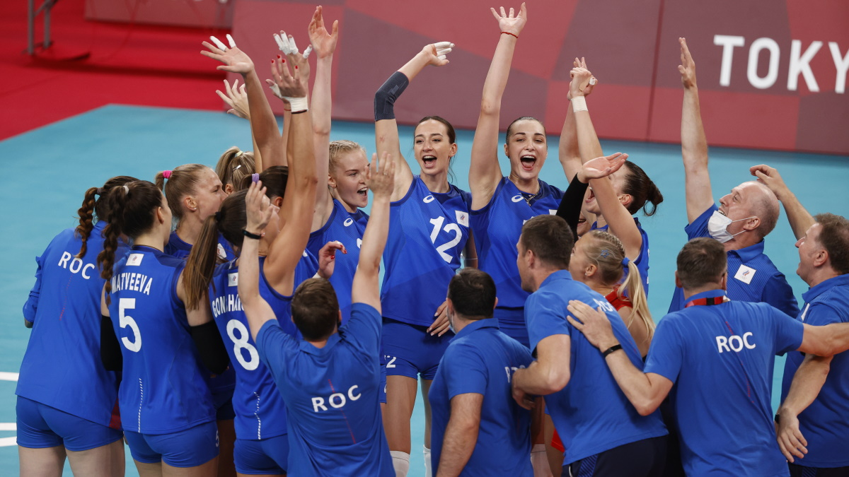 Женская сборная России по волейболу прошла в четвертьфинал Олимпиады. Фото: REUTERS