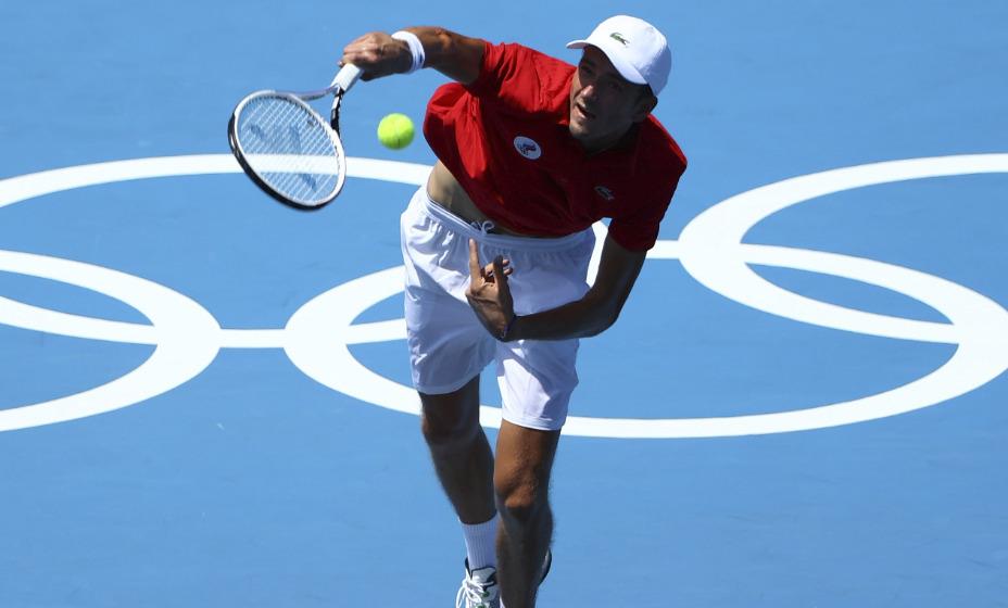 Российский теннисист Даниил Медведев вышел в следующий круг Игр-2020. Фото: Global Look Press