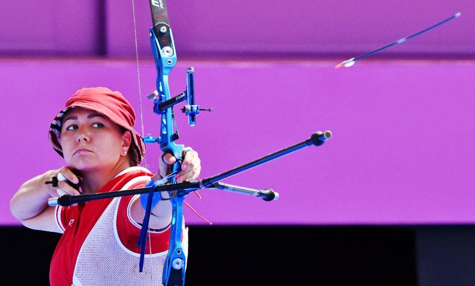 Лучница Елена Осипова пополнила копилку медалей сборной России в Токио-2020. Фото: Reuters