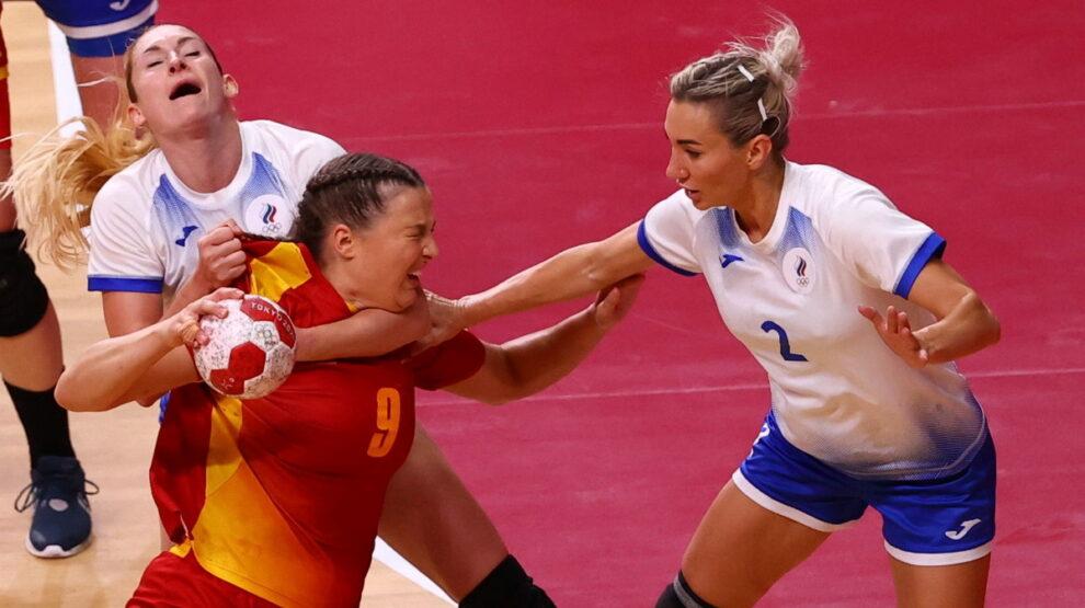 Россия - Черногория - гандбол - Олимпиада