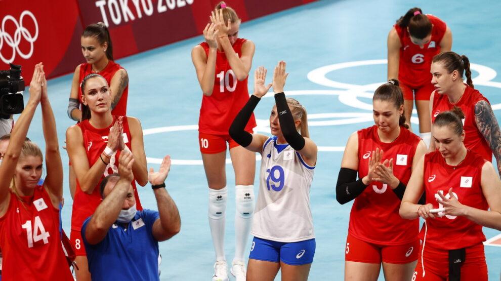 Россия - Бразилия - волейбол - Олимпиада