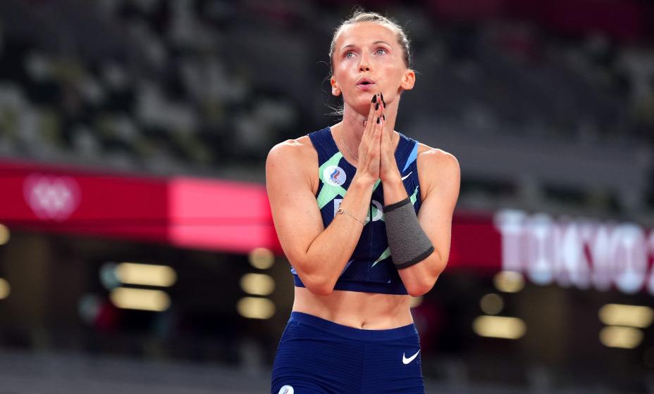 В прыжках с шестом Анжелика Сидорова завоевала серебряную награду Игр в Токио. Фото: Reuters