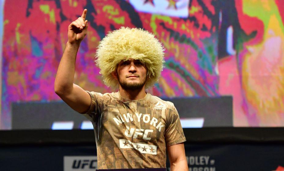 Экс-чемпион UFC Хабиб Нурмагомедов в последнее время слишком часто стал попадать в скандалы. Фото: Global Look Press