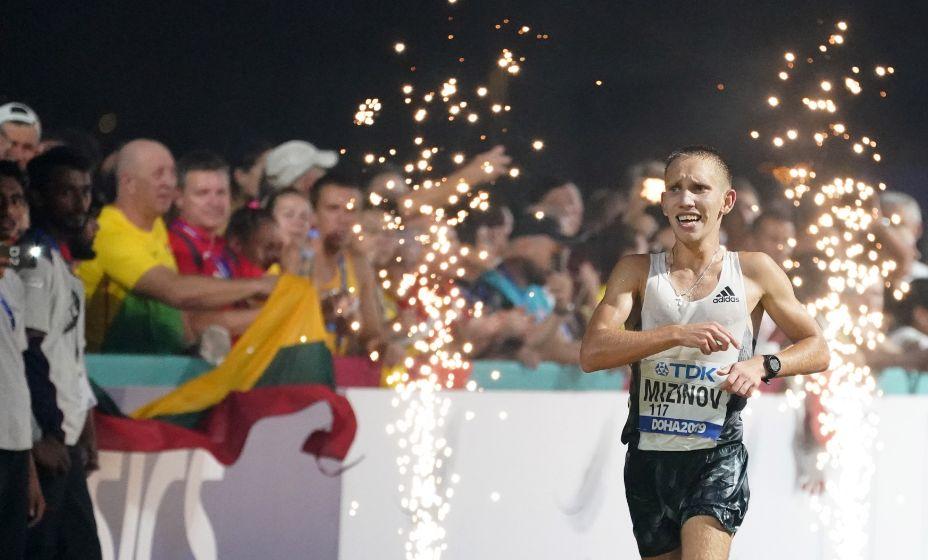 На чемпионате мира-2019 Василий Мизинов выиграл серебро, в Токио-2020 дойти до успеха не получилось. Фото: global Look Press