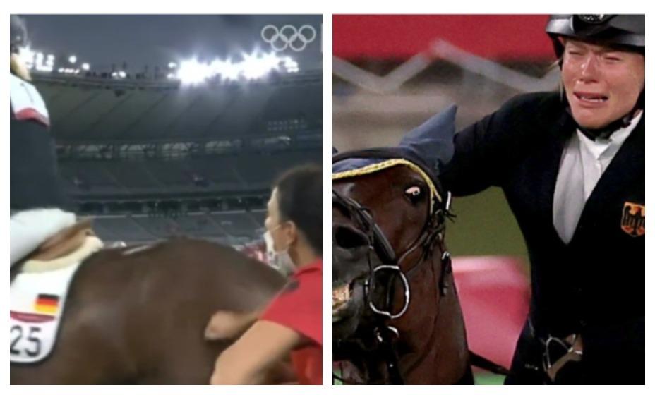 Тренера сборной Германии Ким Райзнер дисквалифицировали за жестокое обращение с животными. Фото: Трансляция