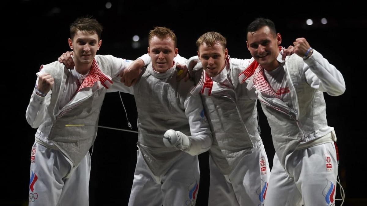 Сборная России по фехтованию на рапирах дошла до финала Олимпиады. Фото: REUTERS