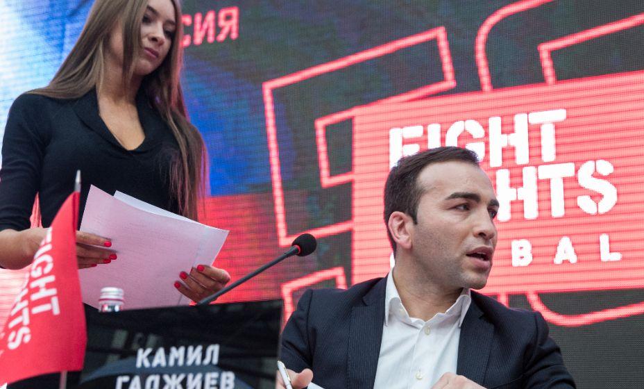 Промоутер Камил Гаджиев событиях из мира смешанных единоборств. Фото: ТАСС