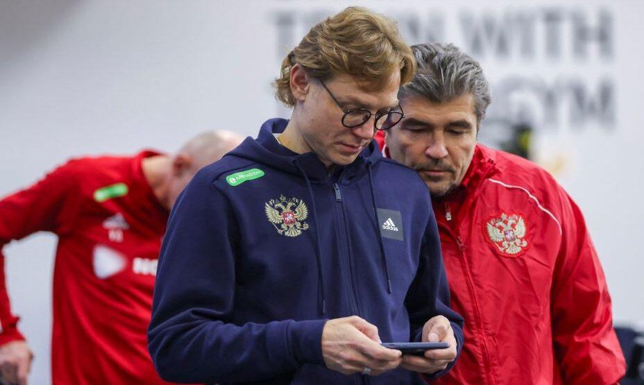 Валерий Карпин, сборная России